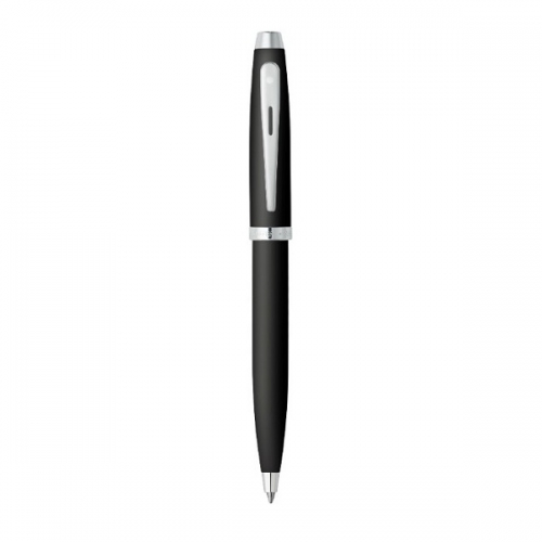 στυλο-sheaffer-100-series-ballpoint-matte-black-with-nickel-plate-trim-9317-2