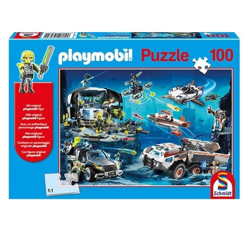 schmidt-playmobil-top-agents-100pcs-56272