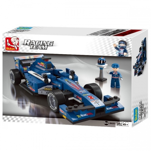 sluban_racing_team_racewagen_blauw_m38-b0353_217329